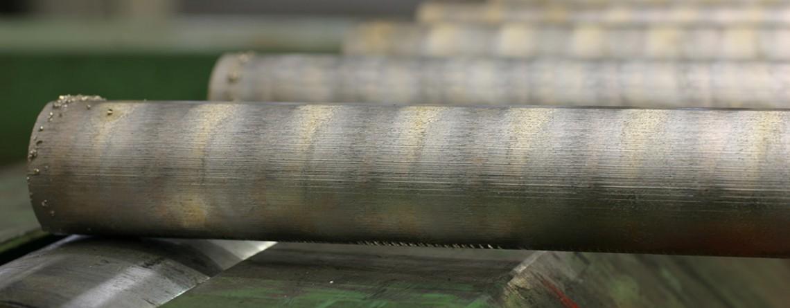 Runde und Platte Bronze Stangen
