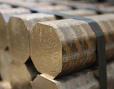 gun metal ingots in continuous casting